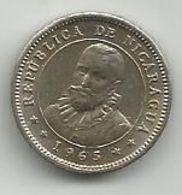 Nicaragua 5 Centavos 1965. High Grade - Nicaragua