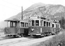BVA - Chemin De Fer Du Salève (GV G.V.) Au Terminus De Veyrier Ce 2/2 21 - GE Geneva