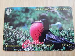 ANTIGUA & BARBUDA $ 60  BARBUDA FRIGATE BAY           ANT-15A  CONTROL NR: 15CATA      NEW C&W LOGO **2542** - Antigua And Barbuda