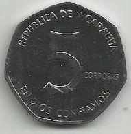 Nicaragua 5 Cordobas 1984. - Nicaragua