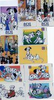 """Serie """"LA CARICA DEI 101""""  10 Carte Prepagate Tele 2000 - BD"""