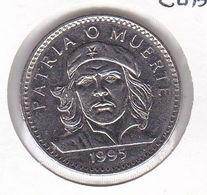 MONEDA DE CUBA DE 3 PESOS DEL AÑO 1995 DEL CHE GUEVARA (COIN) - Cuba