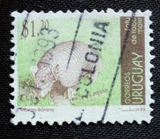 1993 URUGUAY Used - Mulita Tatu Tatou Armadillo Faune Fauna - Yvert 1433 - Uruguay