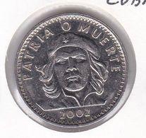 MONEDA DE CUBA DE 3 PESOS DEL AÑO 2002 DEL CHE GUEVARA (COIN) - Cuba