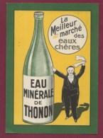040620 -  PUBLICITE - 74 THONON Eau Minérale La Meilleur Marché Des Eaux Chères - Sommelier Maitre D'hôtel ? - Thonon-les-Bains