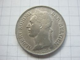 Congo Belgian , 50 Centimes 1923 (flemish) - Congo (Belgian) & Ruanda-Urundi