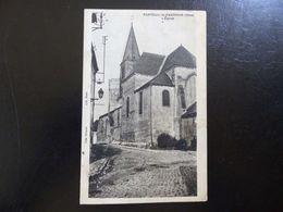57 - CPA , Nanteuil Le Haudouin , L'Eglise - Nanteuil-le-Haudouin