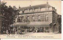 St-Mariaburg (Brasschaat) Grand Hôtel De La Chapelle,Avenue Chapelle-au-Bois 1908 (Geanimeerd) - Brasschaat