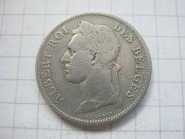 Congo Belgian , 50 Centimes 1927 (french) - Congo (Belgian) & Ruanda-Urundi