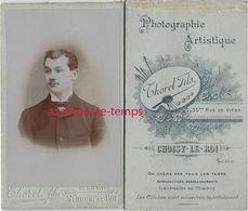 CDV à Choisy Le Roi (94) - Jeune Homme Par Thorel Fils - Old (before 1900)