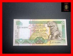 Ceylon - Sri Lanka  10 Rupees 1.7.1992  P. 102 UNC - Sri Lanka