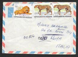 BURUNDI 1983 BUJUMBURA TO ROMA N°154 - Altri