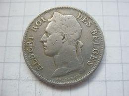 Congo Belgian , 50 Centimes 1929 (french) - Congo (Belgian) & Ruanda-Urundi