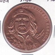 MONEDA DE CUBA DE 1 PESO DEL AÑO 2007 ERNESTO CHE GUEVARA (COIN) (NUEVA - UNC) - Cuba