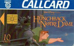 Carta Telefonica IL GOBBO DI NOTRE DAME - IRLANDA 1996 - BD