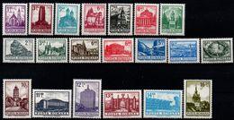 Romania 1972, Scott 2353-2371 & C193, MNH, Monuments, Architecture - 1948-.... Républiques