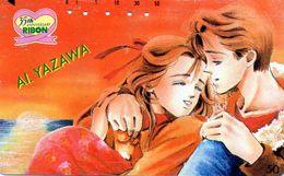 Carta Telefonica MANGA - AL YAZAWA  - Giappone - BD