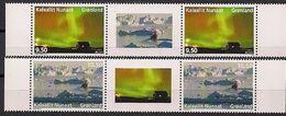 2012 Grönland  Mi. 613-4**MNH Gutter Par Europa: Besuche - 2012