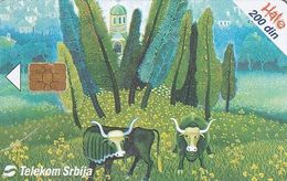 SERBIA - Painting, Jutarnja Pasa/Slobodan Zivanovic, 11/02, Used - Yougoslavie