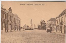 Dieghem , Diegem ,  Place De La Station , Statieplaast , ( Attelage De Boulanger , Bakkerij + Café - Diegem