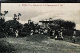 CPA Ethiopie Le  Dedjazmatch Taffari Makonnen Sortant Du Trésor - Ethiopie