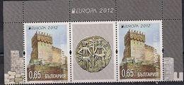 2012 Bulgarien  Mi. 5032-3**MNH Europa: Besuche - 2012
