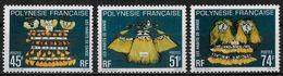 POLYNESIE FRANCAISE - HABITS DE DANSE - N° 138 A 140 - NEUF** - Neufs