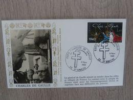 CHARLES-de-GAULLE (1890-1970) Le Général à Saint-Simon - Editions Amis - Année 1985 - - Oblitérés