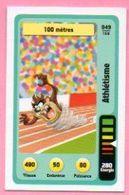 IM463 : Carte Looney Tunes Auchan 2014 / N°049 Athlétisme 100 Mètres - Trading Cards