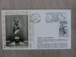 L'URNE-des-MARTYRS - Suresnes - Le Mont-Valérien - Editions Amis - Année 1985 - - Oblitérés