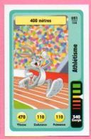 IM464 : Carte Looney Tunes Auchan 2014 / N°051 Athlétisme 400 Mètres - Trading Cards