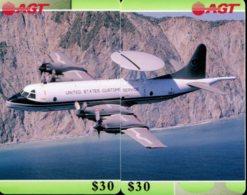 Puzzle 2 Télécartes : Avion - Puzzles