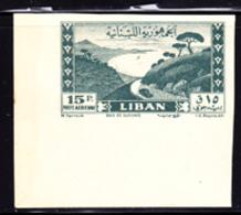 LEBANON (1947) Djounie Bay. Corner Imperforate. Scott No C121. - Libanon