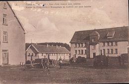 Kamp Te Elsenborn Binnenplaats En Keukens Van Eene Kazerne - Elsenborn (camp)