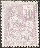 Mouchon N° 115a (chiffre Déplacé) Neuf ** Gomme D'Origine à 18% De La Cote  TTB - Francia
