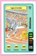 IM466 : Carte Looney Tunes Auchan 2014 / N°053 Athlétisme Ligne D'arrivée - Trading Cards