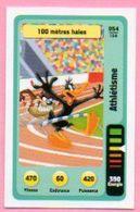 IM467 : Carte Looney Tunes Auchan 2014 / N°054 Athlétisme 100 Mètres Haies - Trading Cards