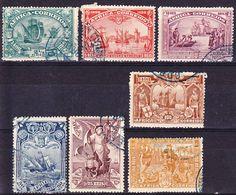 Colonias De Africa Emissoes Gerais 1898 1-3, 5-8 Used O - Afrique Portugaise