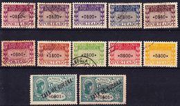 Colonias De Africa Emissoes Gerais 1919-1945 Imposto Postal 1 MNG (*); Porteado 2 MNH **; 1-9 Used O - Afrique Portugaise