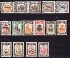 Portugal Nyassa 1910-1921 Lot Of Definitives MH * - Nyassa