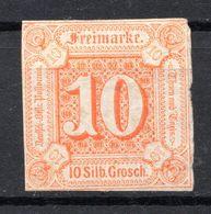 ALLEMAGNE - Tour Et Taxis (Etats Du Nord) - 1859 - N° 13 -10 Silb. Grosch S. Orange - Tour Et Taxis