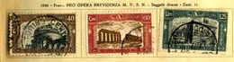 ITALIA - Regno - 1926 - Pro Opera Previdenza Milizia - 1° Emissione Manca £.5. - Usati