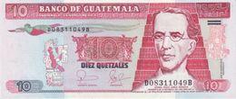 GUATEMALA 10 QUETZALES 2006 P-111a UNC [GT111a] - Guatemala