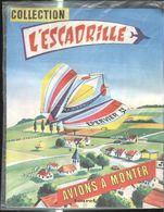 Avion à Monter - Epervier - Maquette Carton - Collection L'escadrille - Etat Neuf Sous Film Plastique D'origine - Autres Collections