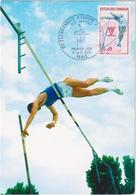 Cinquantenaire De La Fédération Française D\'athletisme - Sauteur à La Perche - & Maximum Card - Atletismo