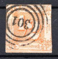 ALLEMAGNE - Tour Et Taxis (Etats Du Nord) - 1862-64 - N° 16 - 1/2 Silb. Grosch Orange - Tour Et Taxis
