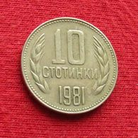 Bulgaria 10 Stotinki 1981 KM# 114 1300th Anniversary  Bulgarie Bulgarije Bulgarien - Bulgarien