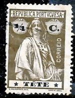 !■■■■■ds■■ Téte 1914 AF#25ø Ceres 1/4 Centavo (x12295) - Tete