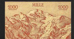 """Billet Scolaire """"Mille Francs""""  Format Moyen UNC - Specimen"""
