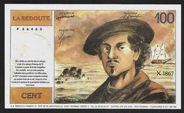 """Billet Publicitaire """" LA REDOUTE """" 100 Francs    1997 - Specimen"""